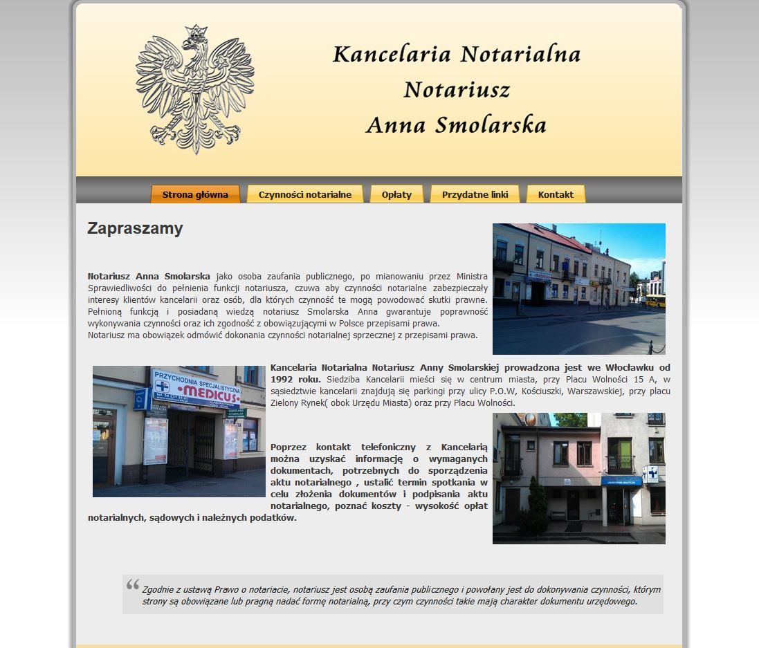 Notariusz Anna Smolarska