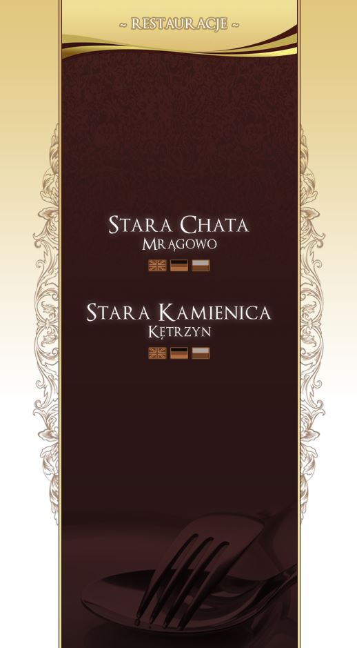 Restauracje Stara Chata i Stara Kamienica